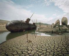 Shipwreck - Submarine abandoned on dry land ;)
