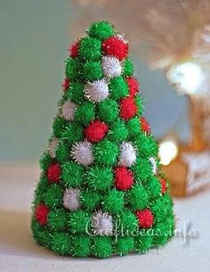 Pompom christmas tree!