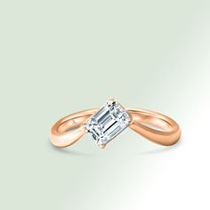 Inspired by figure skating jumps this solitaire is an exclusive creation AGUAdeORO for those who want a unique piece. Cultured diamond 0,65cts. Figure Skating Jumps, Ice Skating, Or, Skate, Creations, Engagement Rings, Inspired, Unique, Jewelry