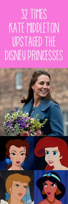 32 Times Kate Middleton Upstaged the Disney Princesses