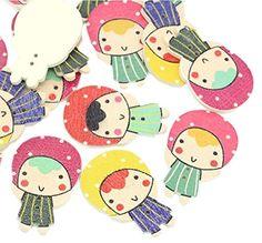 October Elf Mixed Wood Craft Buttons Sewing Scrapbooking ... http://www.amazon.com/dp/B01ERGBI08/ref=cm_sw_r_pi_dp_lEfnxb1WWBW6P