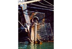 Anchored Tall Ship