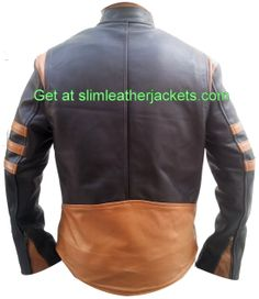 X-Men #wolverine #biker #leatherjackets only for lover Hugh Jackmans specially offers free shipping at slimleatherjackets .com