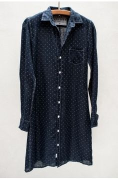 Navy Polka Dot Murphy Shirtdress  (Oh to have money to spend...)