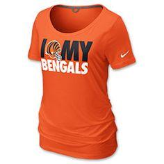 Nike Cincinnati Bengals Team Dedication Women's NFL Tee Shirt  for my #FinishLine #SwagBag