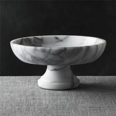 French Kitchen Marble Fruit Bowl - Crate and Barrel