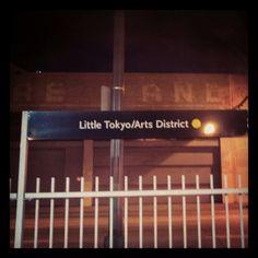 Gold Line station, Little Tokyo/Arts District