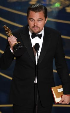 Vamos Falar Sobre... : Discurso Oscar 2016: Leonardo DiCaprio.