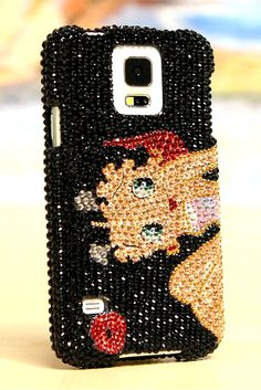 Betty Boop Design phone case cover made for iPhone 5 5s 5c vintage