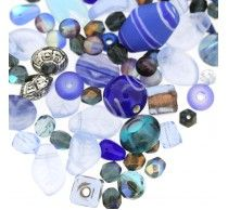 Salcombe Blue Bead Mix