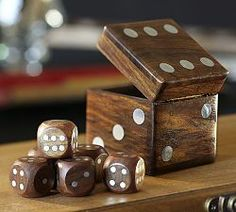 Dice Box Set from Pottery Barn. Shop more products from Pottery Barn on Wanelo.