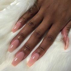 Acrylic nails coffin pink, pink nail, coffin nails, dope nails, nails on fl Pink Acrylic Nails, Acrylic Nail Designs, Pink Nails, Dark Nude Nails, Opi Pink, Dope Nails, Nails On Fleek, Hair And Nails, My Nails