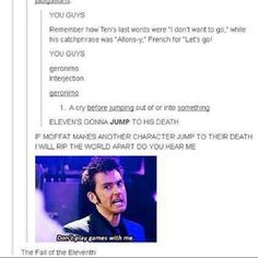 The fall of the eleventh.  Ohmygosh, he probably will!