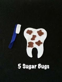 The Preschool Procrastinator: Five Sugar Bugs
