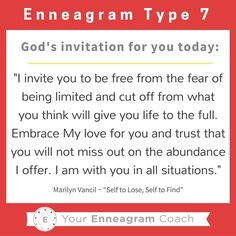 Enneagram #Type7 thi