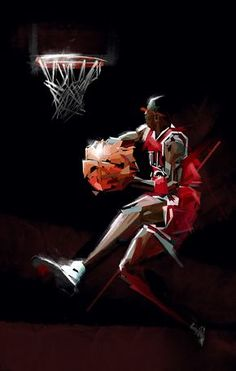 65 Ideas Basket Ball Art Ideas Sports For Michael Jordan Basketball, Nba Basketball, Jordan 23, Michael Jordan Photos, Basketball Pictures, Love And Basketball, Basketball Legends, Sports Pictures, Jordan Logo Wallpaper