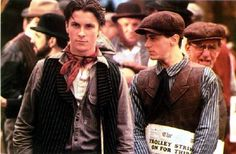 Newsies- when I first fell in love with Christian Bale