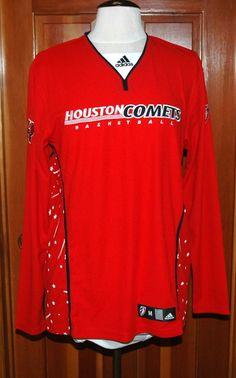 Adidas W's WNBA Houston Comets Basketball 100% Polyester Jersey Red Sz M $70-NWT #adidas #Jerseys #WNBA