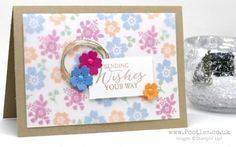 Stampin' Up! Demonstrator Pootles - Bloomin' Love with a Vellum Overlay
