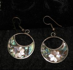Hey, I found this really awesome Etsy listing at https://www.etsy.com/listing/218244752/beautiful-abalone-shell-earrings-with