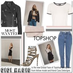 Gigi Hadid is the Global Face of Topshop...