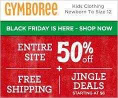 GYMBOREE Cyber Monday Weekend Sale