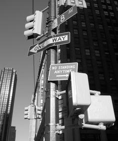 Street Signs New York 8 av - Wall Mural & Photo Wallpaper - Photowall