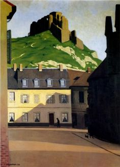 The Strong Castle and the place of Andelys - Felix Vallotton