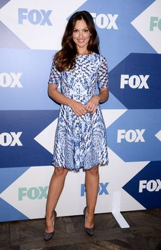 Minka Kelly arriving at the FOX Summer TCA All-Star Party in West Hollywood, California - Aug 1, 2013 - Photo: Runway Manhattan/AFF