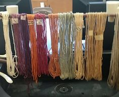 Gulf Coast Native yarn bought from Wool of Louisiana, dyed by Catherine.