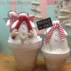 Christmas Makes, Country Christmas, Christmas Snowman, Christmas Crafts, Christmas Ornaments, Navidad Diy, Advent, Girls Dresses, Sewing