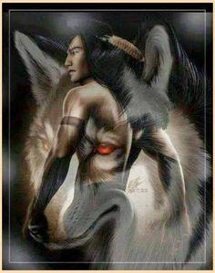 My Spirit Guide Wolf.