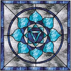 LOTUS STAINED GLASS PATTERN « 1000 Free Patterns