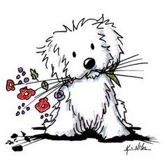 Resultado de imagen de Kim Niles Puppy Clip Art