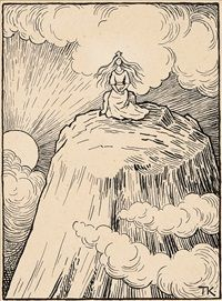 Princess on the Glass Mountain by Theodor Kittelsen