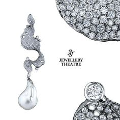 A dreamlike wintry #pendant, from our Elements collection #jewellerytheatre #highjewellery