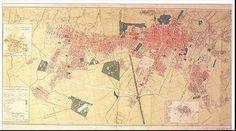 Red Bogotá Htm, Plaza, Vintage World Maps, Urban, Cities