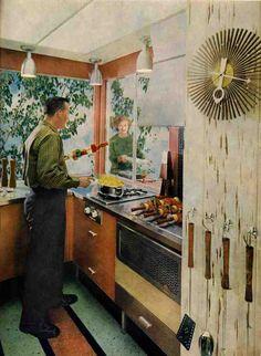1959 retro kitchen