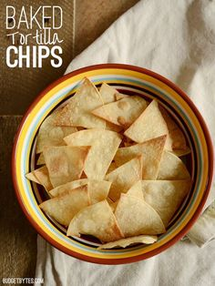 Baked tortilla chips are fast, easy, super crunchy, and an inexpensive ...