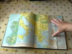 My Altered Book - YouTube