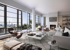 High rise luxury at the d'Orsay renowned French architect and interior designer Jacques Garcia. Luxury Penthouse, Luxury Condo, Luxury Houses, Best Interior, Home Interior Design, Design Interiors, Yacht Interior, French Interiors, Residential Complex