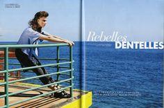 Dentelles - 18 juin 2013 @Elle France