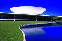 National Congress in Brasilia, Brazil Brazil, Architecture, Places, Outdoor Decor, Home Decor, Cities, Modern, Travel, Arquitetura