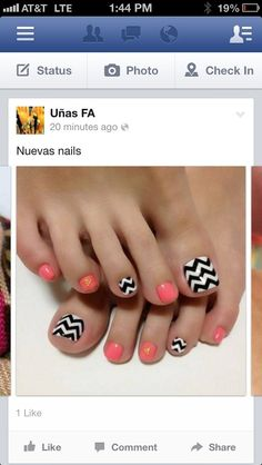 Nails design.
