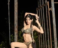 #sherlynChopra exclusive still from the sets of #kamasutra3d...
