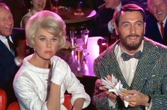 """Doris Day and Rock Hudson in """"Lover Come Back"""" All of her movies are outstanding!  I wish she could make just one more movie.  Please Doris???"""