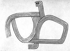GORDON WALTERS Drawing 1947 Maori Symbols, Maori Art, Black And White Lines, Mark Making, Art Forms, Cool Words, New Art, Painting & Drawing, Modern Art