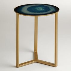 One of my favorite discoveries at WorldMarket.com: Sapphire Harbin Accent Table