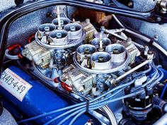 Ford Experiment using  Holley 1050cfm dominators originally developed for NASCAR on a IR manifold for Trans-AM racing,