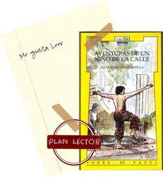 Actividades del lectura del libro Aventuras de un niño de la calle. Un libro basado en la vida de los gamines, que muestra lo que hacen por conseguir dinero para comer y do...